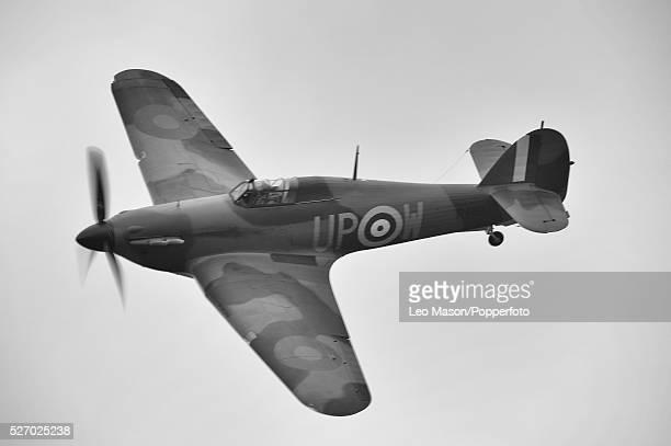 Battle of Britain Airshow Shoreham Airfield Sussex Hawker Hurricane