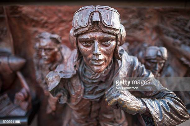 battle of britain memorial, london, uk - battle of britain stock pictures, royalty-free photos & images