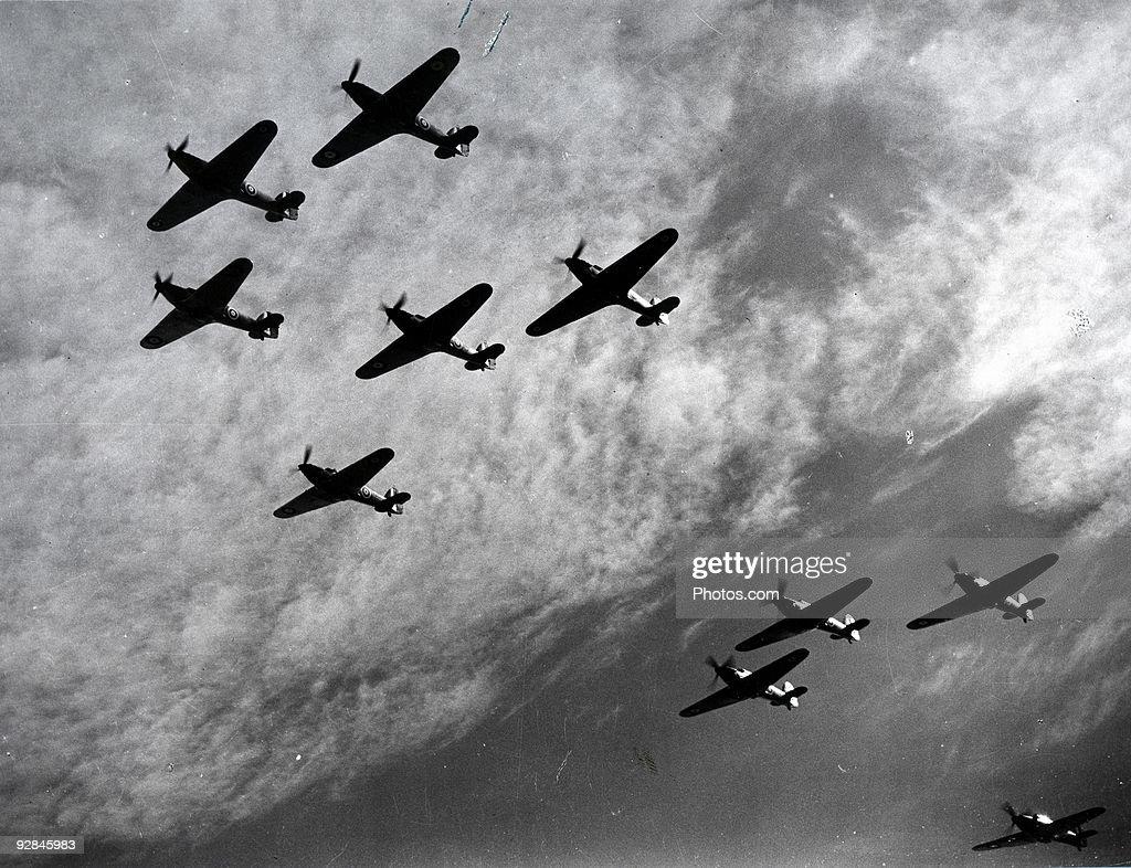 Battle of Britain, World War II, 1940 : Stock Photo