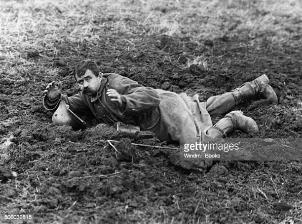 Battle of Cambrai German prisoner near Havrincourt November 1917