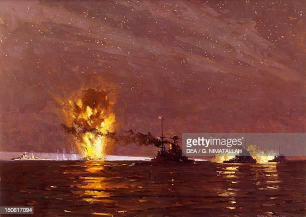 Battle of Cape Matapan March 28 1941 World War II Greece 20th century