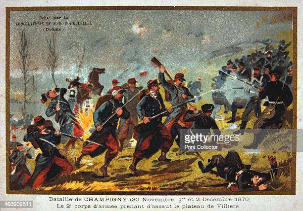 Battle of Champigny FrancoPrussian war 30th November2nd December 1870 Better known as the Battle of Villiers the fighting at Champigny was part of an...