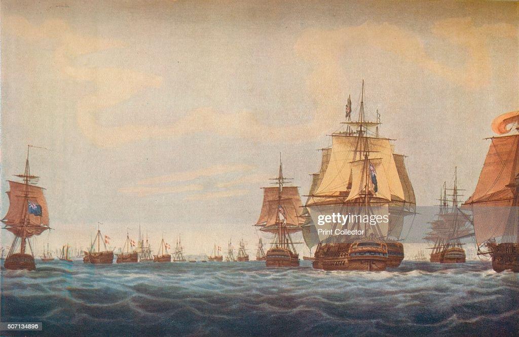 'Battle of Copenhagen 1801 : News Photo