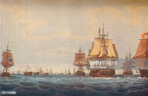 Battle of Copenhagen 1801 British Fleet Approaching' 1801 Admiral Lord Nelson won a victory over the DanishNorrwegian fleet at the Battle of...