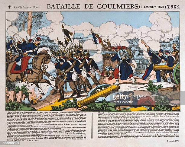 Battle of Coulmiers FrancoPrussian War 9th November 1870 The French defeated a Bavarian army at Coulmiers enabling them to capture the nearby city of...