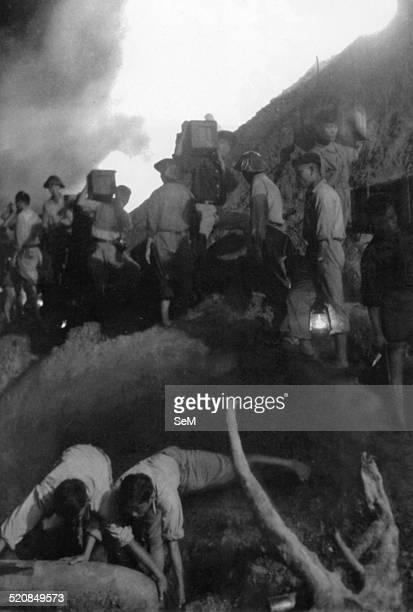 Battle of Diem Bien Phu 1954Dien Bien Phu Vietminh army engineer defusing timebomb