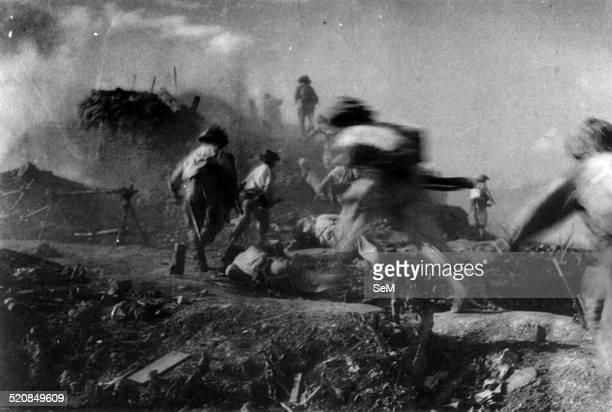 Battle of Dien Bien Phu1954 Dien Bien Phu annihilting final firepoint on C1 Hill