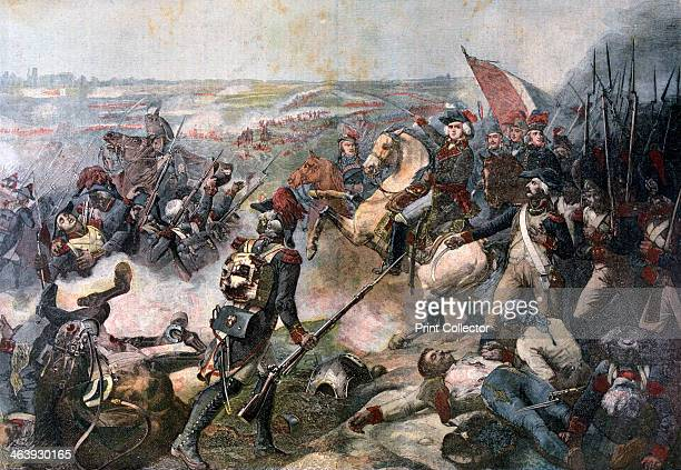Battle of Fleurus 26th June 1794 A print from the Le Petit Journal 8th October 1892