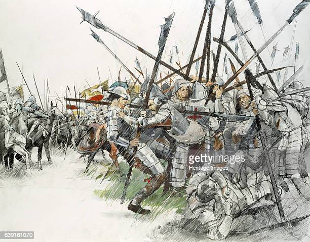 Battle of Flodden Field Reconstruction drawing of the Battle of Flodden 1513 Part of the conflict between the Kingdom of England and the Kingdom of...