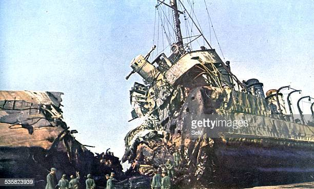 Battle of France British ship sunk in Duquerque or Dunkirk The Battle of Dunkirk was an important battle in the Second World War between the Allies...