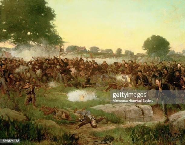Battle of Gettysburg by Rufus Zogbaum