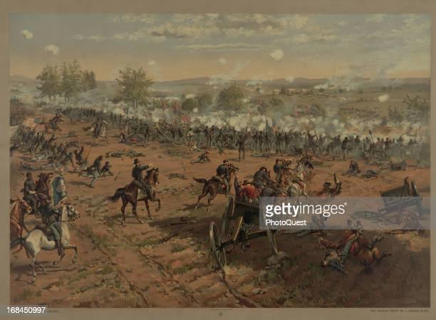 Battle of Gettysburg , Gettysburg, Pennsylvania, July 1863.