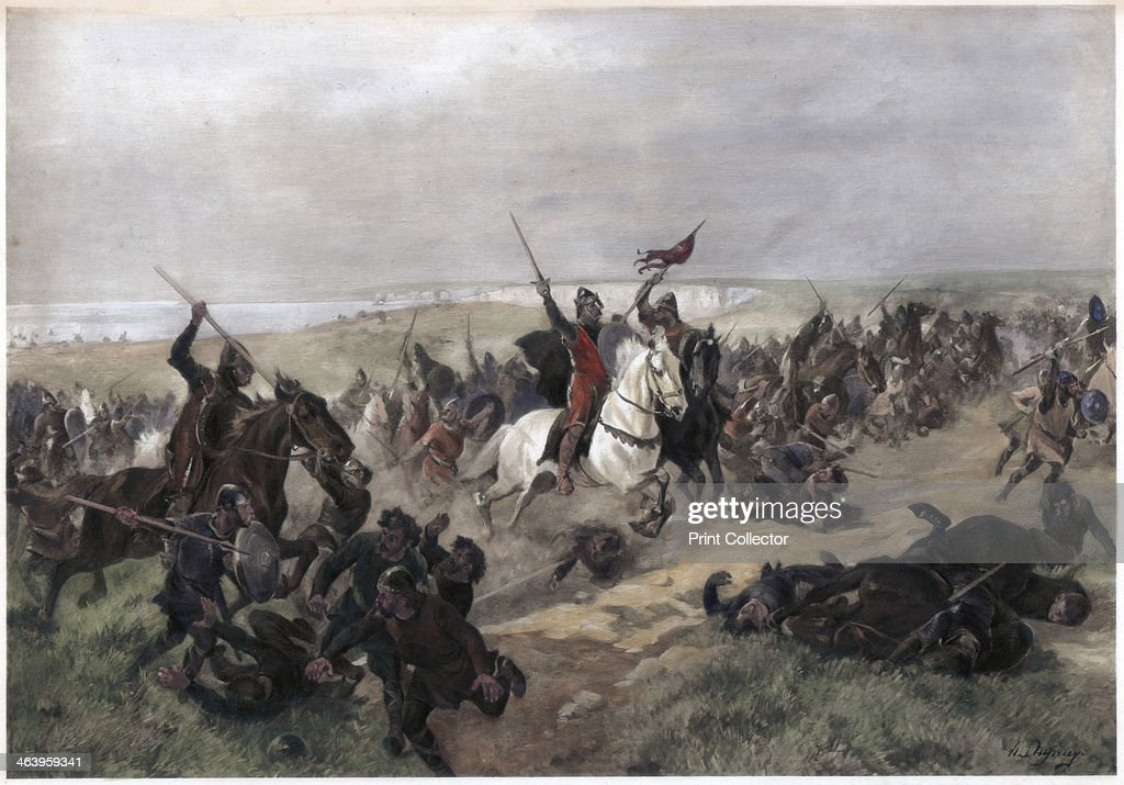 Battle of Hastings, 14th October 1066. : News Photo