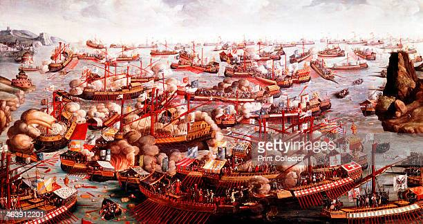 Battle of Lepanto October 1571 The fleets of Spain Venice and the Pope under the command of Don Juan of Austria defeated the Turks in the last great...