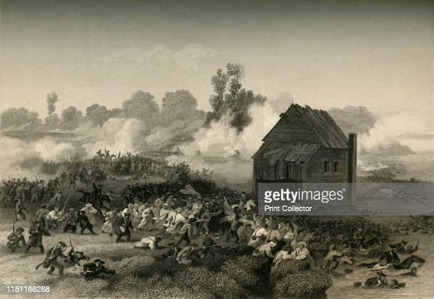 Battle of Long Island Retreat of the Americans under General Stirling Across Gowanus Creek' Battle fought on 27 August 1776 the first major battle of...
