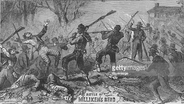 Battle of Milliken's Bend Vicksburg Mississippi June 7 1863