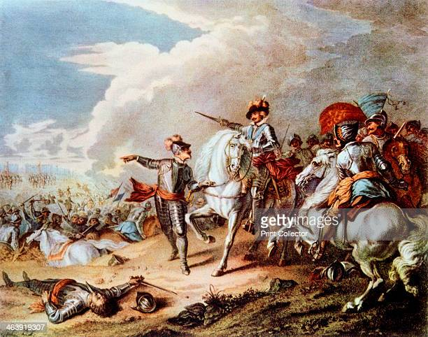 Battle of Naseby 14 June 1645 The victory at Naseby of the Parliamentarian New Model Army under Fairfax and Cromwell over the Royalist army commanded...