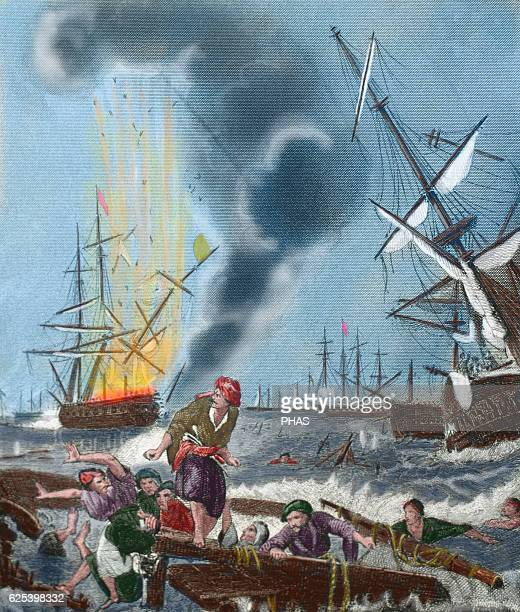 Battle of Navarino 20 October 1827 Greek War of Independence Coast Peloponnese Belligerents Allied forces of British French and Russian against...