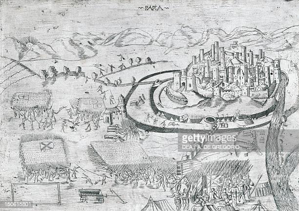 Battle of Pavia February 24 1525 Sixth War of Italy Italy 16th century