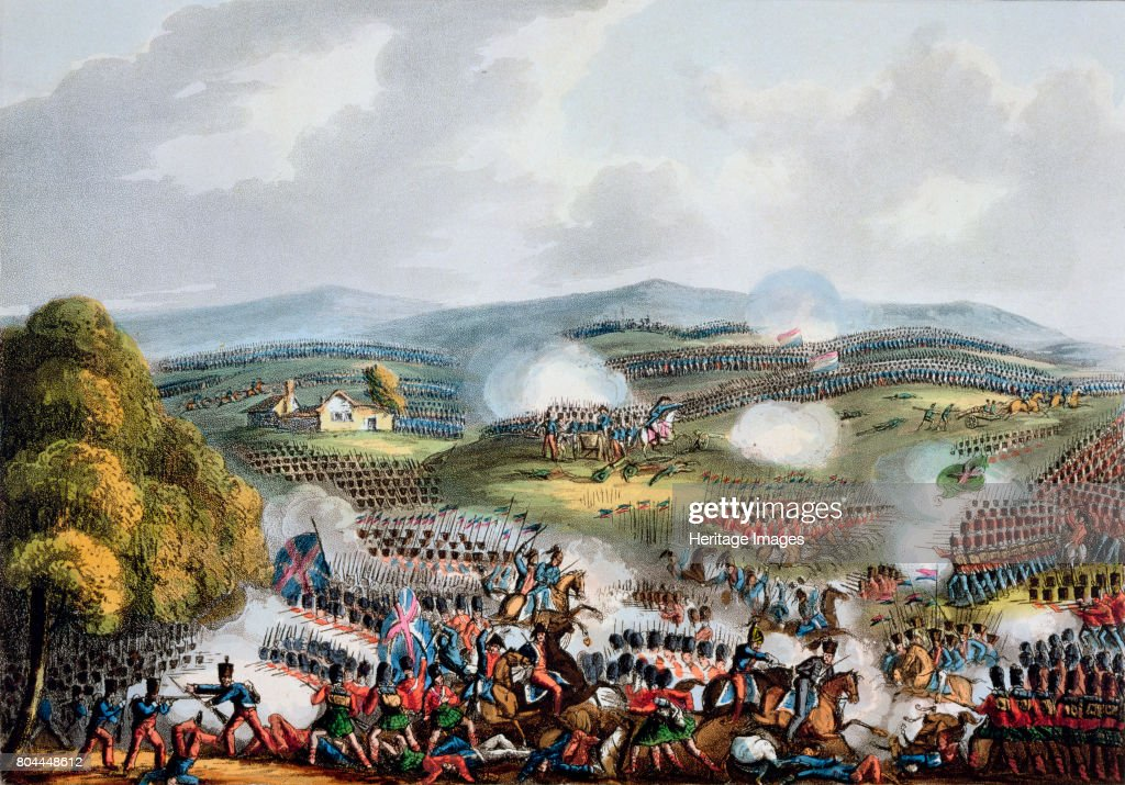 Battle Of Quatre Bras June 16th 1815' : News Photo