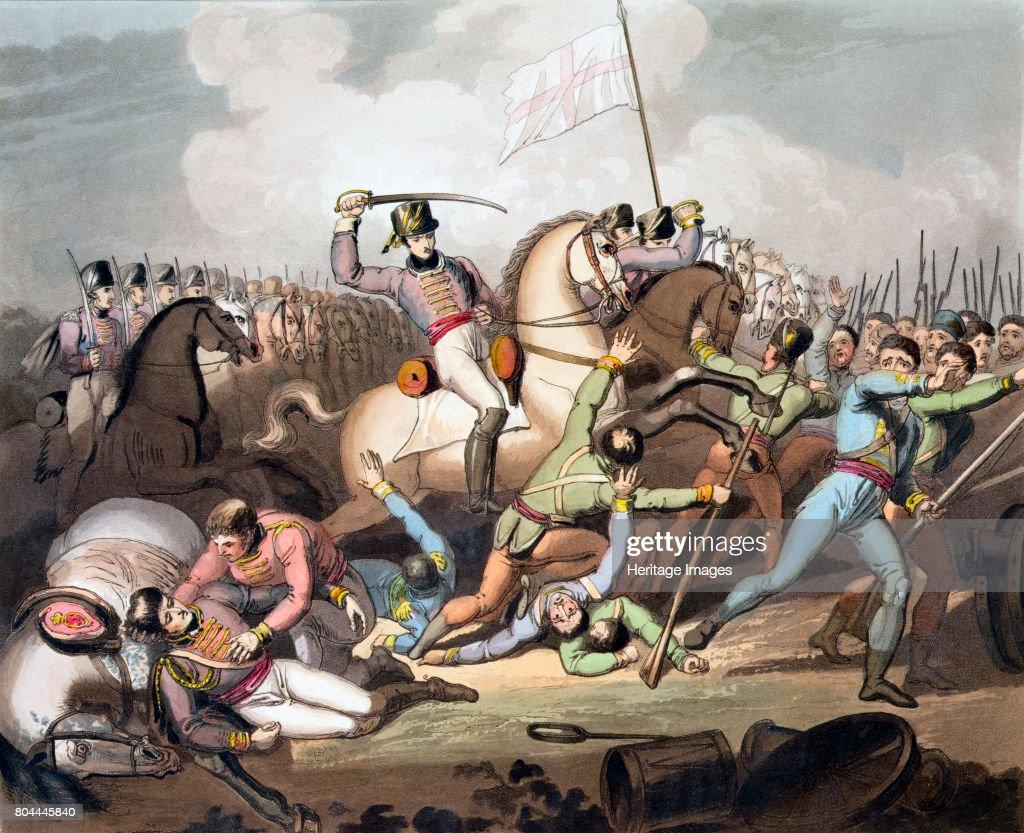 Battle Of Salamanca Spain 21st July 1812 (1819) : News Photo