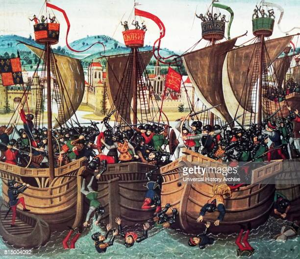 Battle of Sluys also called Battle of l'Ecluse sea battle 24 June 1340 one of the opening conflicts of the Hundred Years' War between England and...