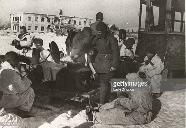Battle of Stalingrad, one of major and strategically decisive battles of World War II, during which Nazi Germany forces fought the Soviet Union for...