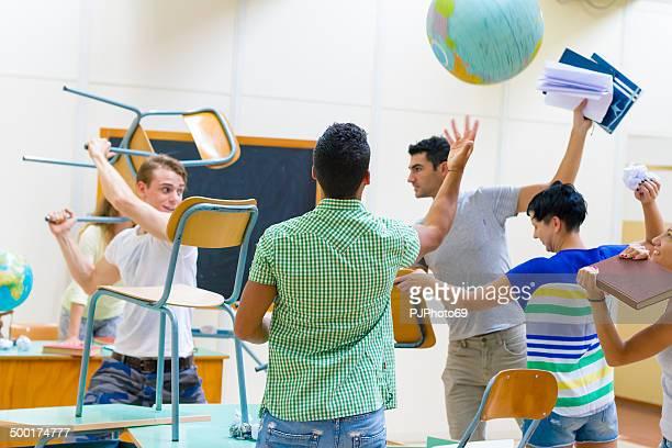 学生の戦いのスクール形式 - pjphoto69 ストックフォトと画像