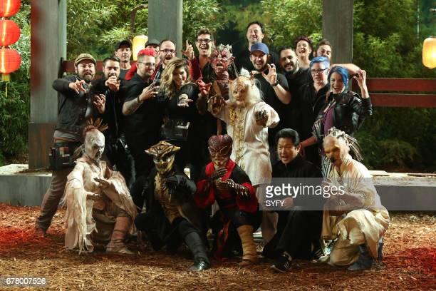 OFF 'Battle of the Beasts' Episode 1114 Pictured Cig Neutron Evan Hedges Adam Milicevic Benjamin 'Ben' Ploughman Emily Serpico Tyler Green Logan Long...