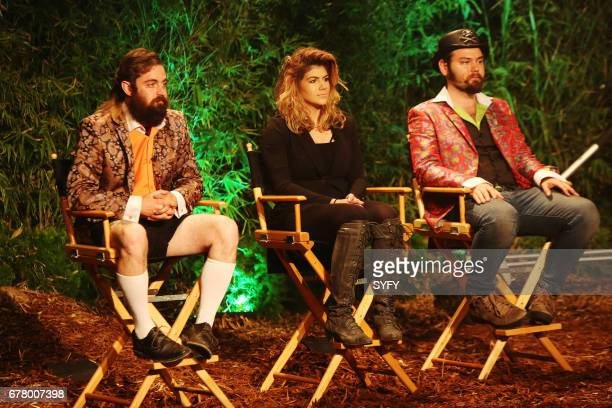 OFF 'Battle of the Beasts' Episode 1114 Pictured George Troester III Emily Serpico Cig Neutron