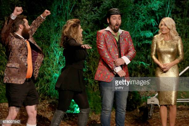 OFF 'Battle of the Beasts' Episode 1114 Pictured George Troester III Emily Serpico Cig Neutron McKenzie Westmore