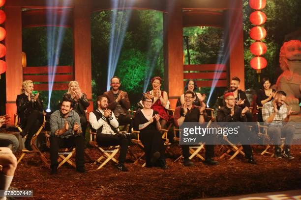 OFF 'Battle of the Beasts' Episode 1114 Pictured Stella Sensel Logan Long Jasmine Ringo Evan Hedges Benjamin 'Ben' Ploughman Melissa Ebbe Rachael...