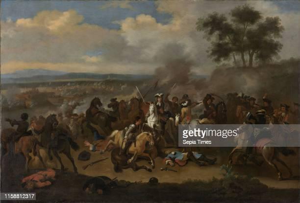 Battle of the Boyne 12 July 1690 between Kings James II and William III Jan van Huchtenburg 1690 1733