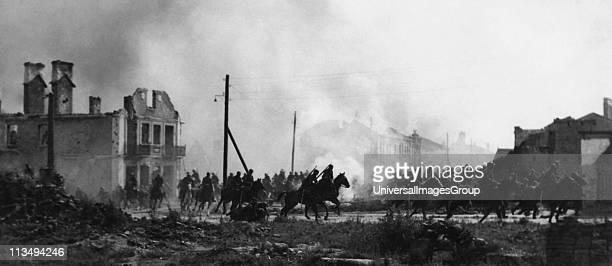 Battle of the Bzura Polish cavalry in Sochaczew in 1939World War II