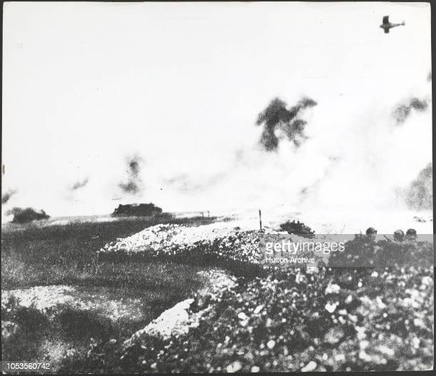 Battle of the Marne 18 a tank and air battle in the last war Tanks were few and unwieldy planes were slow no cooperation to speak of existed between...