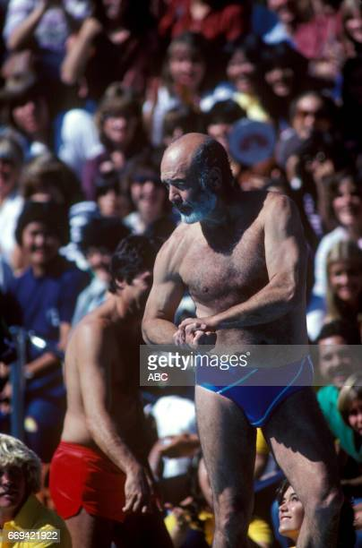 'Battle of the Network Stars' 11/20/81 on the ABC Television Network competition 'Battle of the Network Stars' talent PERNELL ROBERTS photographer...