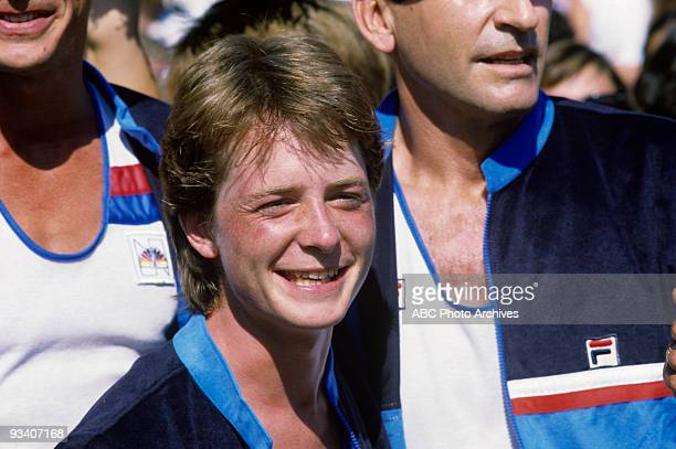SPECIAL 'Battle of the Network Stars' 12/20/84 Michael J Fox on the ABC Television Network competition 'Battle of the Network Stars'