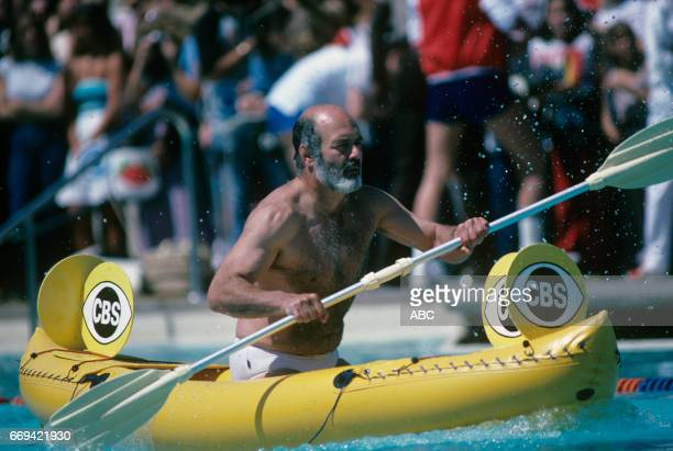 'Battle of the Network Stars' 5/5/82 on the ABC Television Network competition 'Battle of the Network Stars' talent PERNELL ROBERTS photographer ABC...