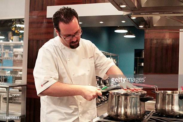 MASTERS 'Battle of the Sous Chefs' Episode 8 Pictured Contestant Ted Hopson
