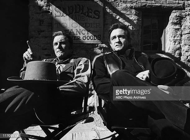 SHOW 'A Battle of the West' On Location in Arizona Shoot Date January 13 1971 KIRK