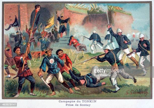Battle of Tonkin FrancoChinese War 20th century