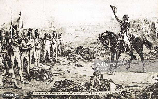 General Hill shouting at the enemy to surrender. 18th June 1815. Paris, Fondation Napoleon.