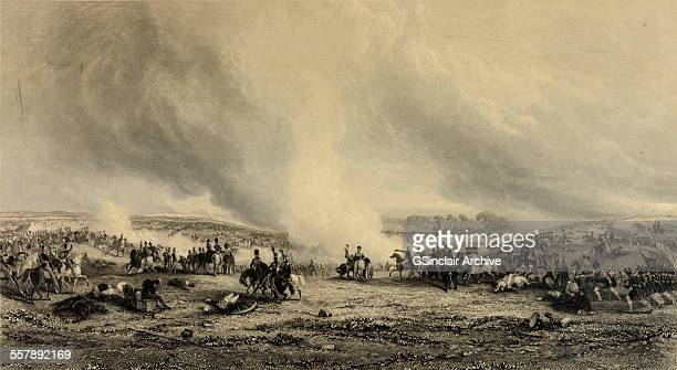 Battle of Waterloo The decisive victory which restored the peace of Europe