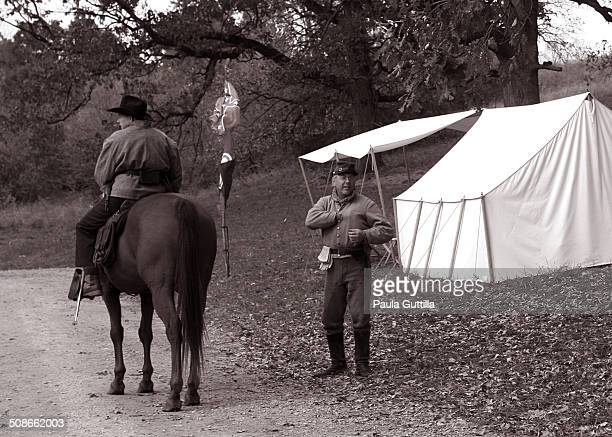 Battle of Wilson Creek 8/10/1861 Near Springfield MO Reenactment Dollinger Family Farm Channahon IL