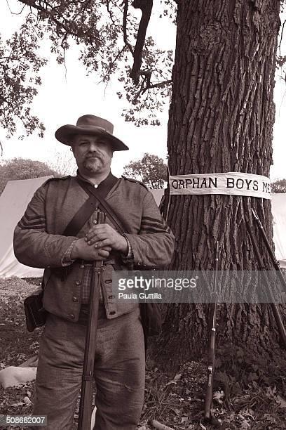 Battle of Wilson's Creek 8/10/1861 Civil War Reenactment Dillinger Family Farm Channahon IL