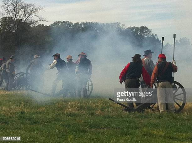 Battle of Wilson's Creek 8/10/1861 Civil War Reenactment Dollinger Family Farm