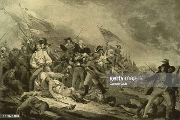 Battle on 17 June 1775 part of the Siege of Boston during the American Revolutionary War JT American artist 6 June 1756 10 November 1843
