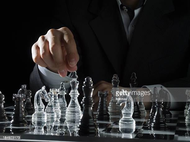 のチェス対戦