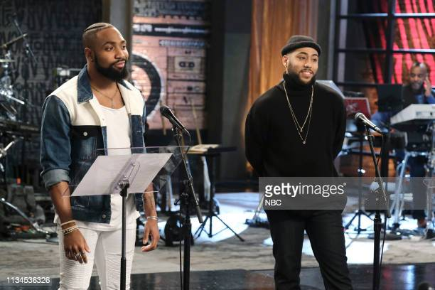 THE VOICE Battle Reality Episode 1608 Pictured Denton Arnell Julian King