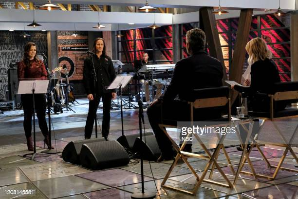 THE VOICE Battle Reality Episode 1806 Pictured Joei Fulco Todd Michael Hall